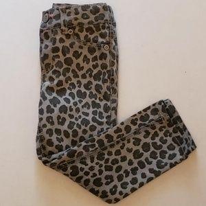 Cherokee girls leopard print pants size 3t